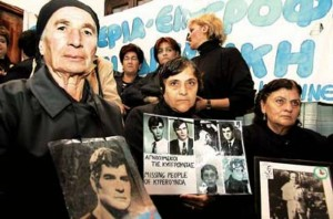 Relatives of missing persons from the 1974 Turkish invasion of Cyprus