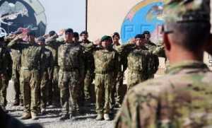 British and US troops hand over Bastion-Leatherneck camp to Afghan troops