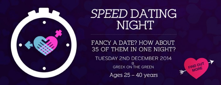 Speed dating original dating