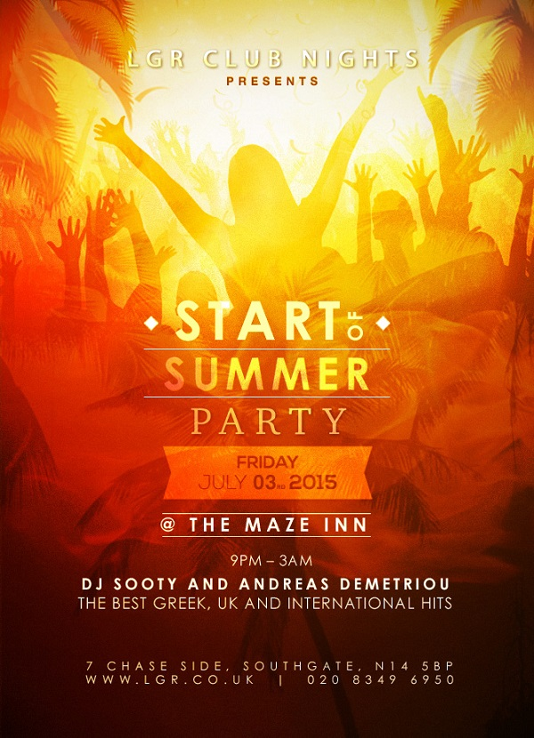 The Start Of Summer Party