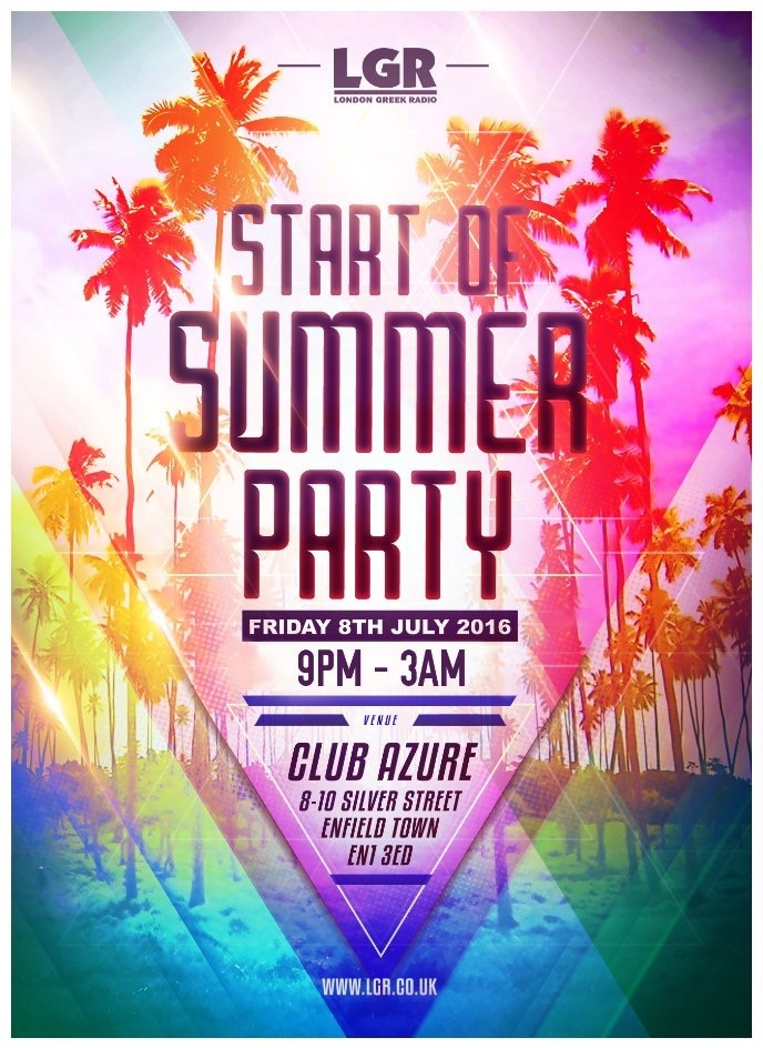 Start Of Summer Party 2016