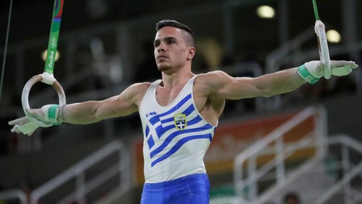 Eleftherios Petrounias wins gold medal in men's rings ...