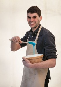 UK Cypriot's Michael Georgiou creates nice batch of Jaffa cakes...