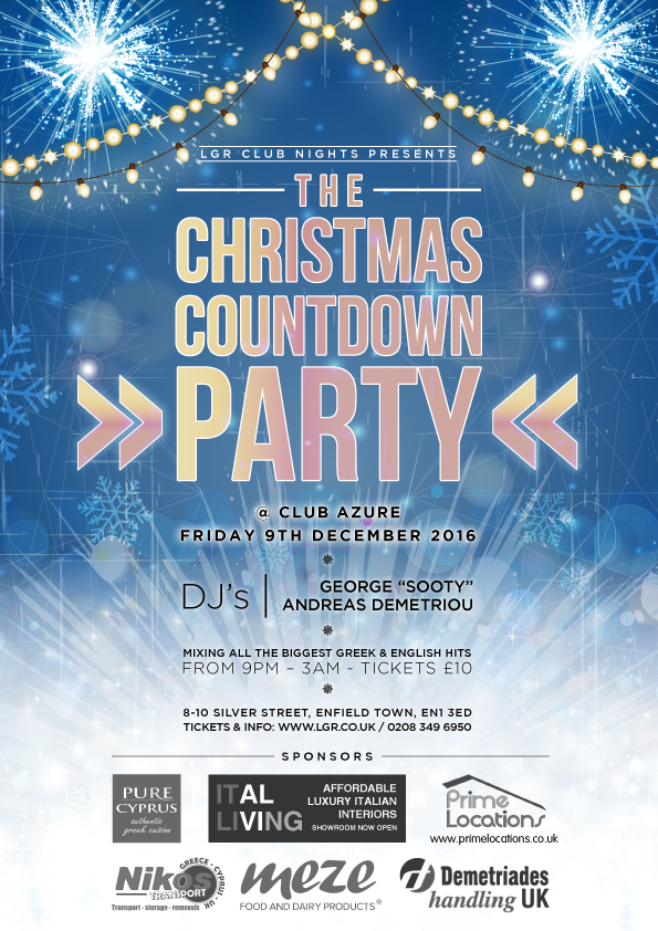 The Christmas Countdown Party